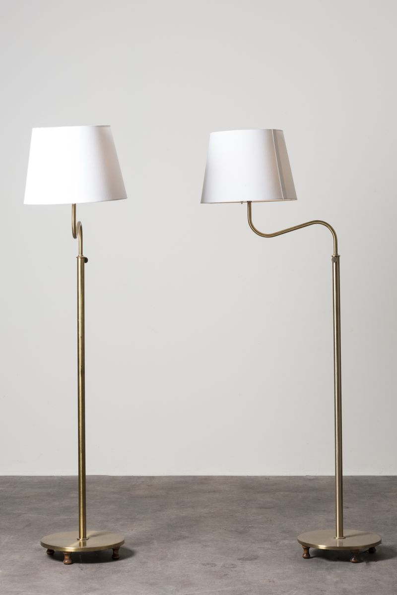 Pair of floor lamps mod 2568 Josef Frank pic-1