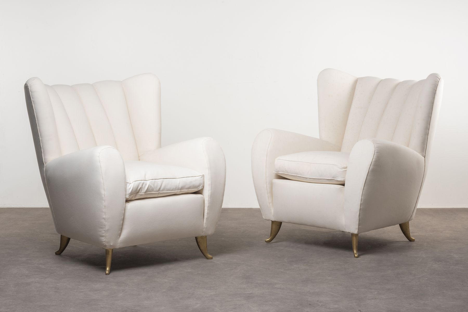 Pair of armchairs Nilufar Vintage Collection  pic-1