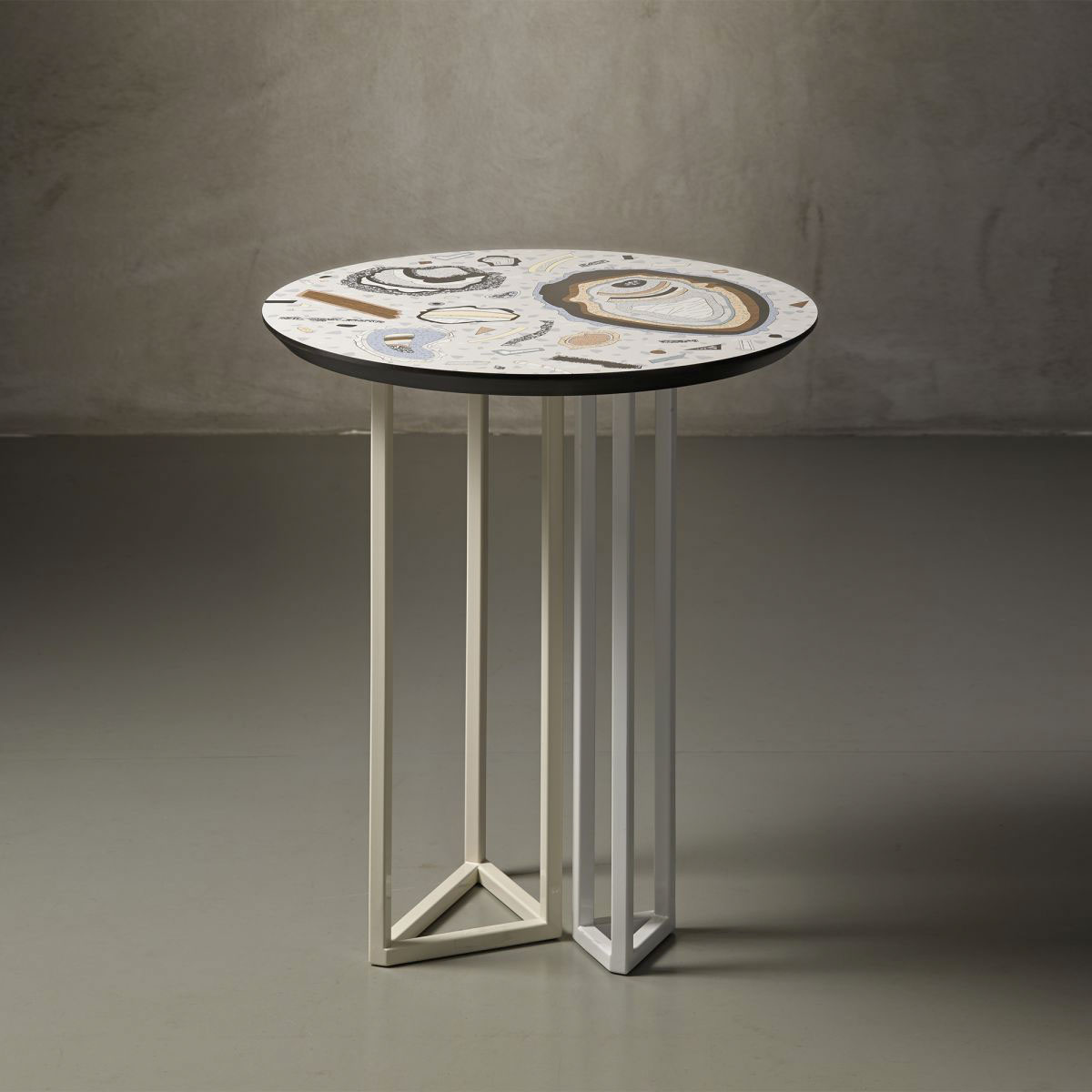 Moon Rock collection – Moon E low table Bethan Laura Wood pic-1