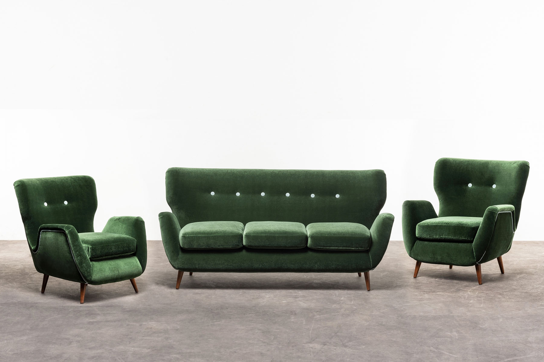 Pair of armchairs  Martin Eisler and Carlo Hauner  pic-5