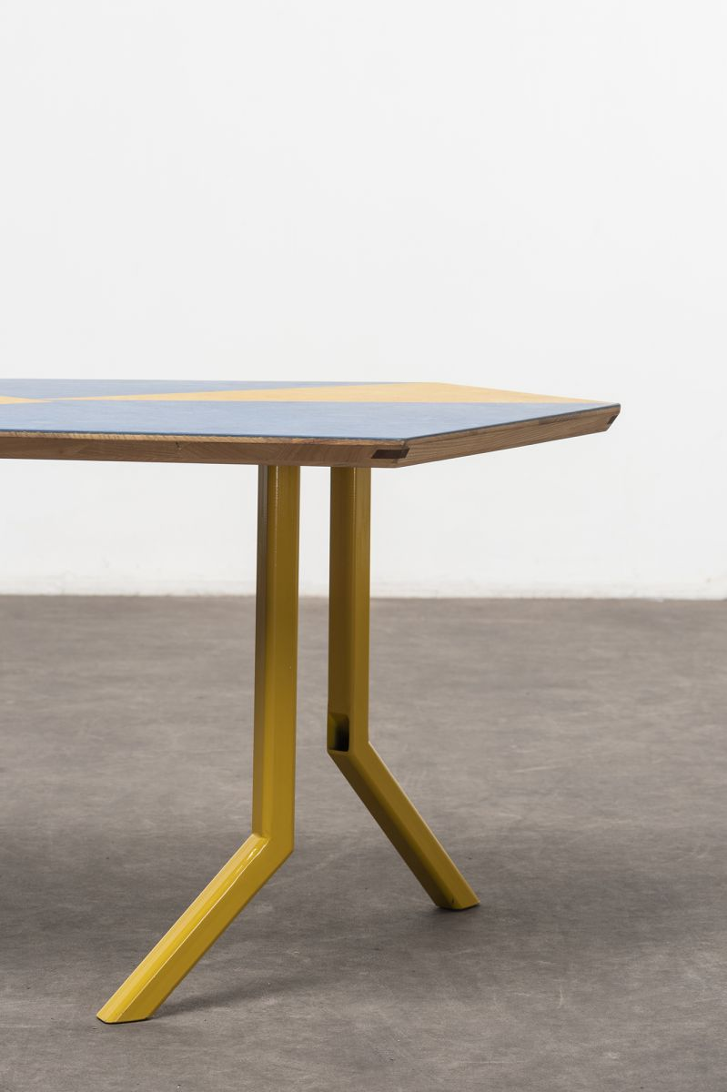 Off‐Cut low table Martino Gamper pic-3