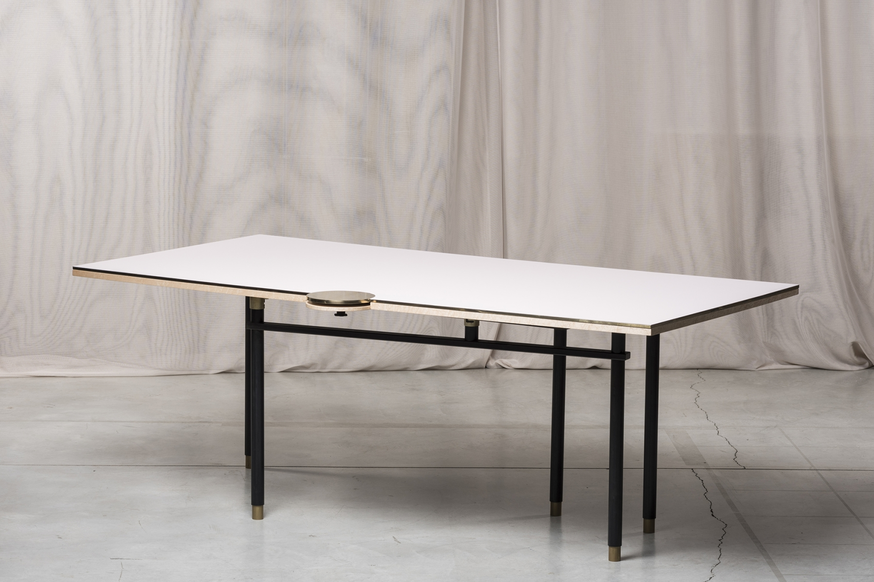 Extendable dining table Massimiliano Locatelli pic-1