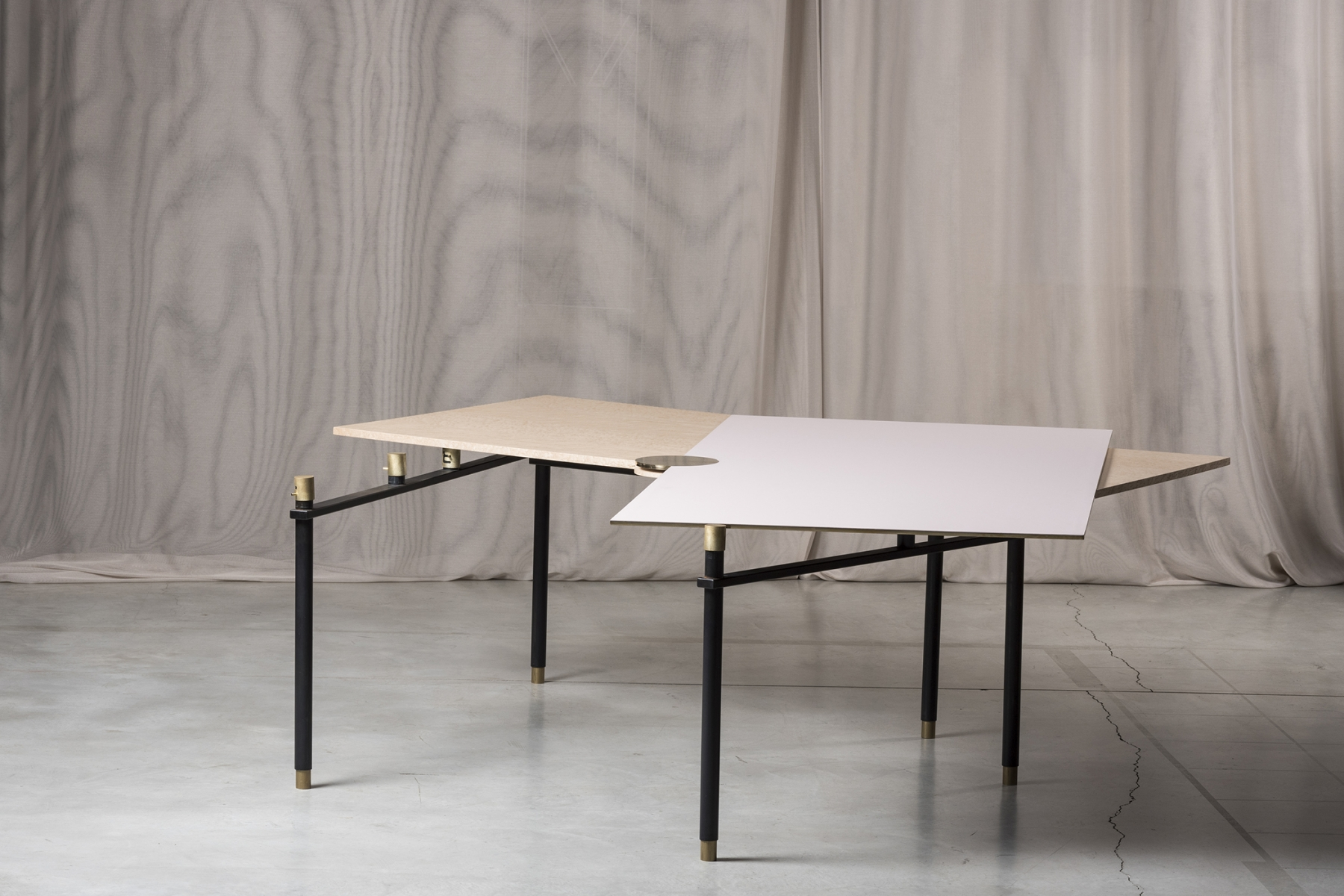 Extendable dining table Massimiliano Locatelli pic-6