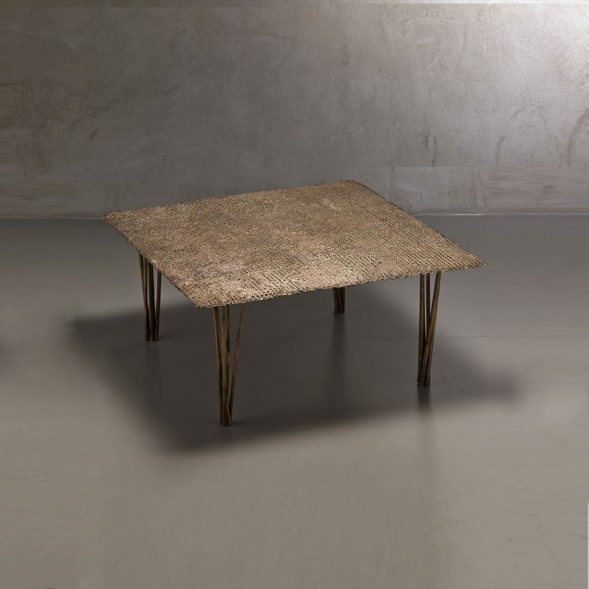 'Paglia di Vienna' collection low table Osanna Visconti pic-1