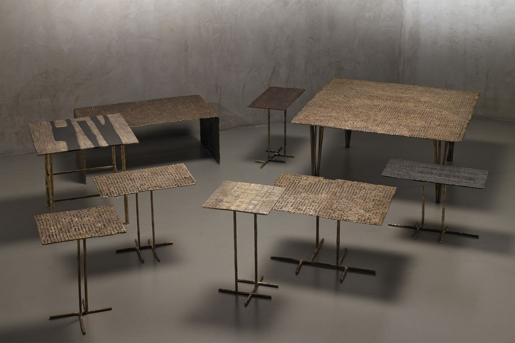 'Paglia di Vienna' collection low tables Osanna Visconti pic-4
