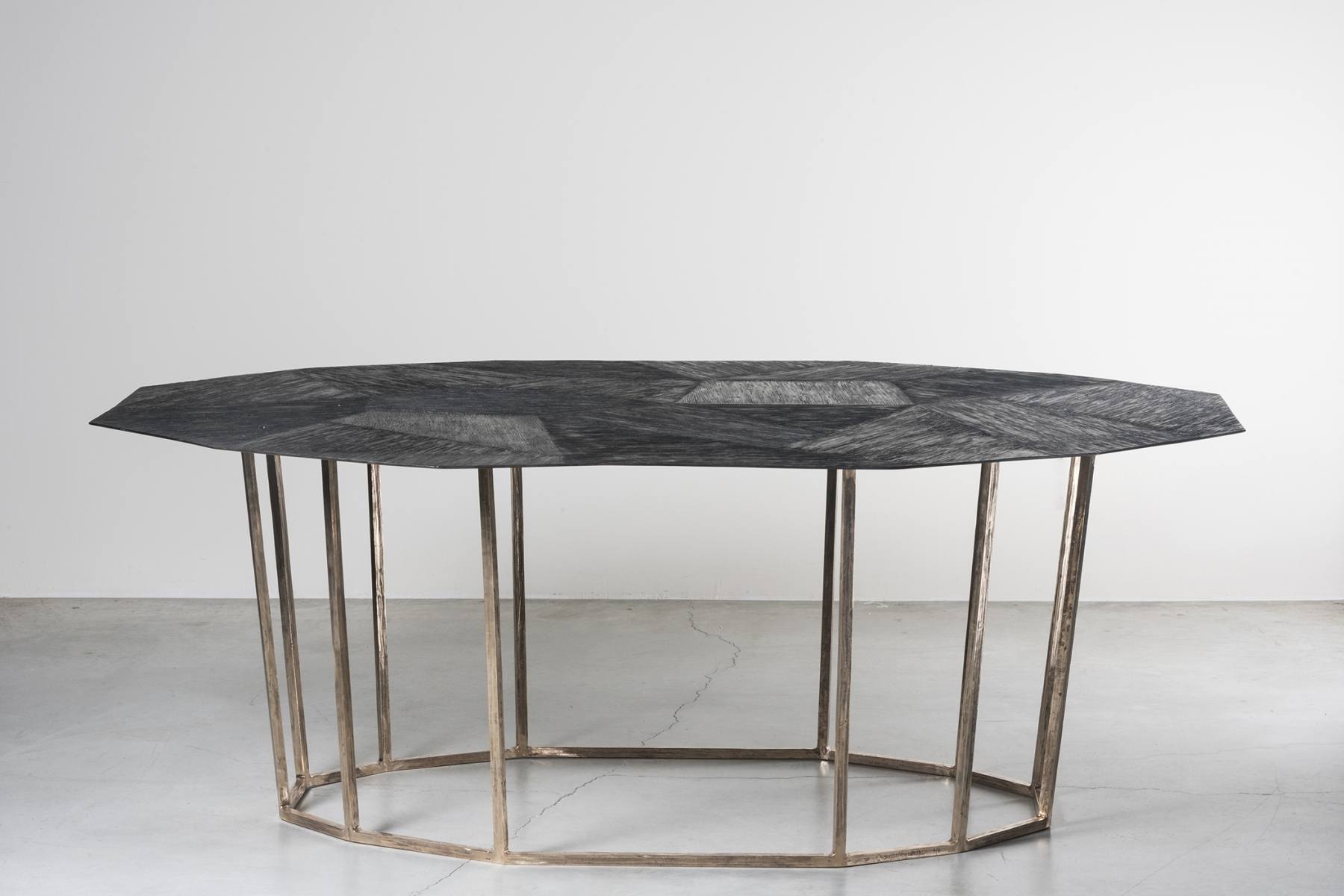 Octagonal low table Osanna Visconti pic-1