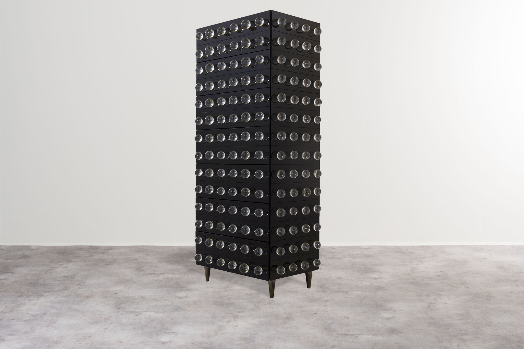 'Settimanile' tall chest of drawers Roberto Giulio Rida pic-1